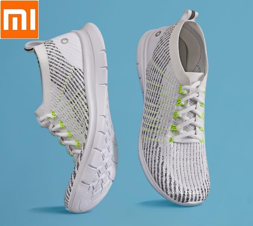 Xiaomi AMAZFIT léger pieds nus course hommes chaussures volant tissage respirant confortable Sports de plein air baskets