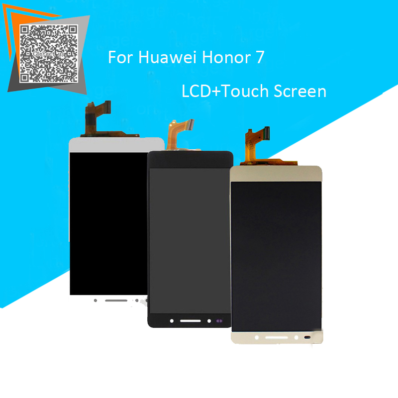 Подробнее о New 5.2'' Inch for Huawei Honor 7  LCD Display Monitor With Touch Screen Digitizer Glass Sensor Full Assembly Repartment new 5 2 inch for huawei honor 7 lcd display monitor with touch screen digitizer glass sensor full assembly repartment