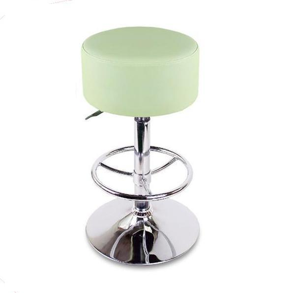 Eastern European fashion bar stool round footrest black red green white color chair retail and wholesale free shipping living room elegant stool black color changing shoes footrest chair stool furniture market retail and wholesale free shipping