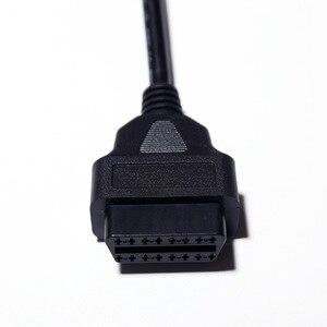 Image 5 - Quente 0.3/1.5/ 3 medidor macho para 16pin fêmea obd ii conector obd2 cabo de extensão obd2 16 pinos carro scanner converter adaptador
