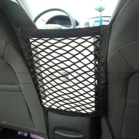 Universal Car Net Seat Storage Mesh Organizer Bag Luggage Holder Pocket For Iphone Cell Phone Hot