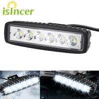 Car Styling Accessories 18W Car Work Lights Bulb 12V LED Lamp Tractor Off Road Work Light