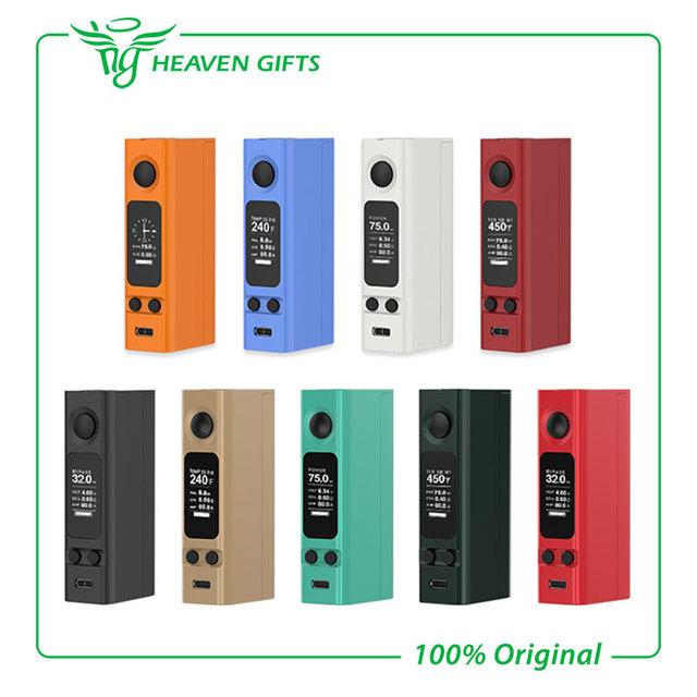 100% original 75 w joyetech evic vtwo mini firmware atualizável mod kit mod cigarro eletrônico n ° 18650 da bateria