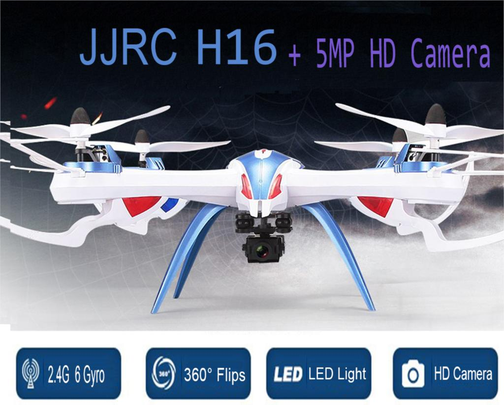 F15733/34 JJRC H16 X6 Large Profession Drone 2.4G RC Quadcopter RTF Helicopter UAV With 5MP Wide Angle HD Camera FS mini drone rc helicopter quadrocopter headless model drons remote control toys for kids dron copter vs jjrc h36 rc drone hobbies