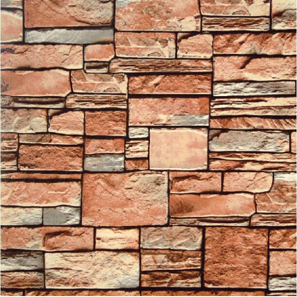 Modern 3d Stone Wallpaper Textured Feature Roll Background Papel De Parede Brick Home Decor In Wallpapers From Improvement