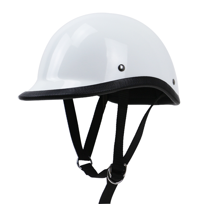 TT&CO style half face motorcycle helmet light weight cap style Fiberglass shell DD ring buckle retro vintage helmet extremely light weight vintage helmet fiberglass shell free style novelty helmet japan style no more mushroon head