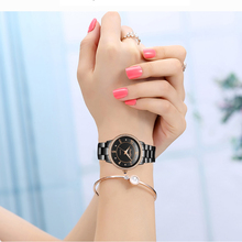 SUNKTA Black Ceramic Women Watch Top Brand Luxury Quartz Clock Fashion Simple Waterproof women Love Gift Relogio Feminino