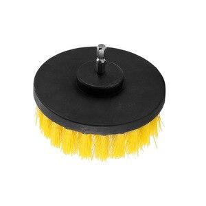 Image 5 - 4Inch Dr Power Scrub Bàn Chải Cọ Sạch Cho Da Nhựa Nội Thất Bằng Gỗ Xe Nội Thất Sức Mạnh Làm Sạch Tẩy Tế Bào Chết