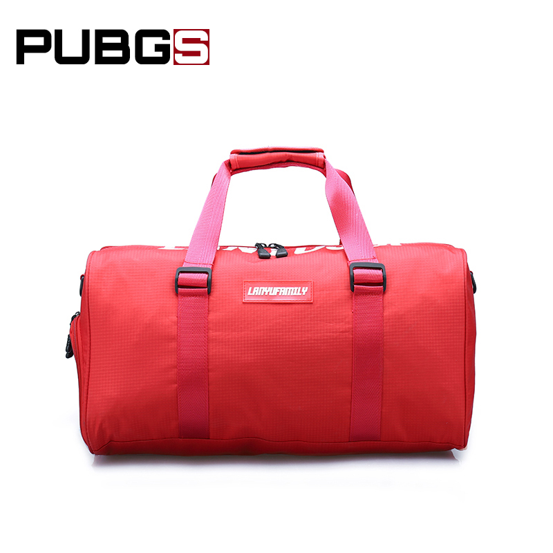 Ladies Travel Bag Portable Shoulder Diagonal Fashion Nylon Trend Wild Large Capacity Waterproof Shopping Travel 2018 PUBGS New