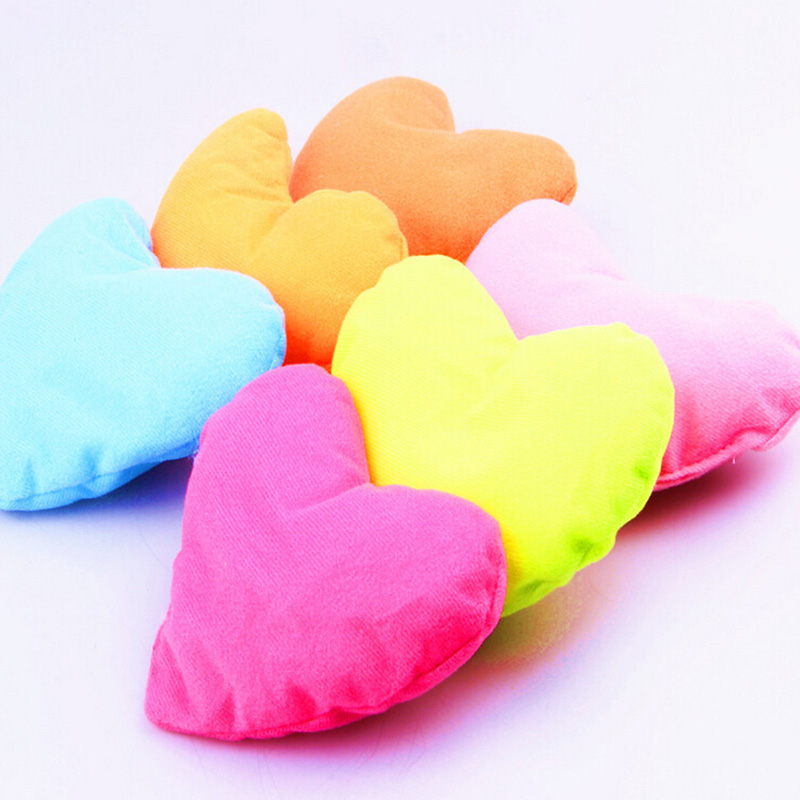 14x12x4cm lovely soft heart shaped pet pillow plush pet dog cat bite toy pillow puppy bed kennel dog toyin houses kennels u0026 pens from home u0026 garden on