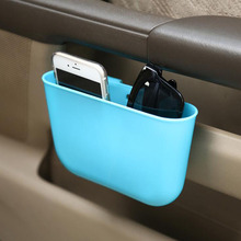 Car styling Catch Catcher Storage Organizer Box Car Seat Gap Slit Pocket Holder Car Seat Phone glasses Box car-styling