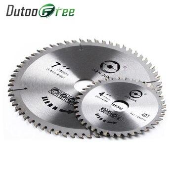 цена на Saw blade Multifunctional 80 Teeth TCT Circular Saw Blade Wheel Discs TCT Alloy Woodworking For Wood Metal Cutting