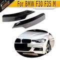 F30 F35 carbon fiber car front bumper lip splitter for BMW F30 F35 M-sport M-tech bumper 2012-2015