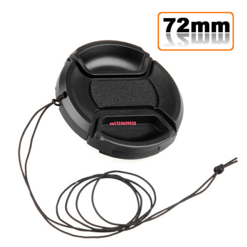 Whilesale 72 мм линзы кепка защиты крышка для D90 D7000 24 - 85 18 - 200 с верёвочкой