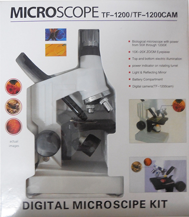 1200X Kids biological microscope with metal body white color LED light children birthday gift for boy girl aomekie 20x 100x continuous zoom monocular microscope protable usb led nature observe biological microscope children kids gift