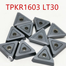 все цены на TPKN1603 PDTR LT30 Milling Turning Tools Carbide inserts Lathe cutter TPKR1603 pdtr Mill Cutting Turning Tool CNC Tools онлайн