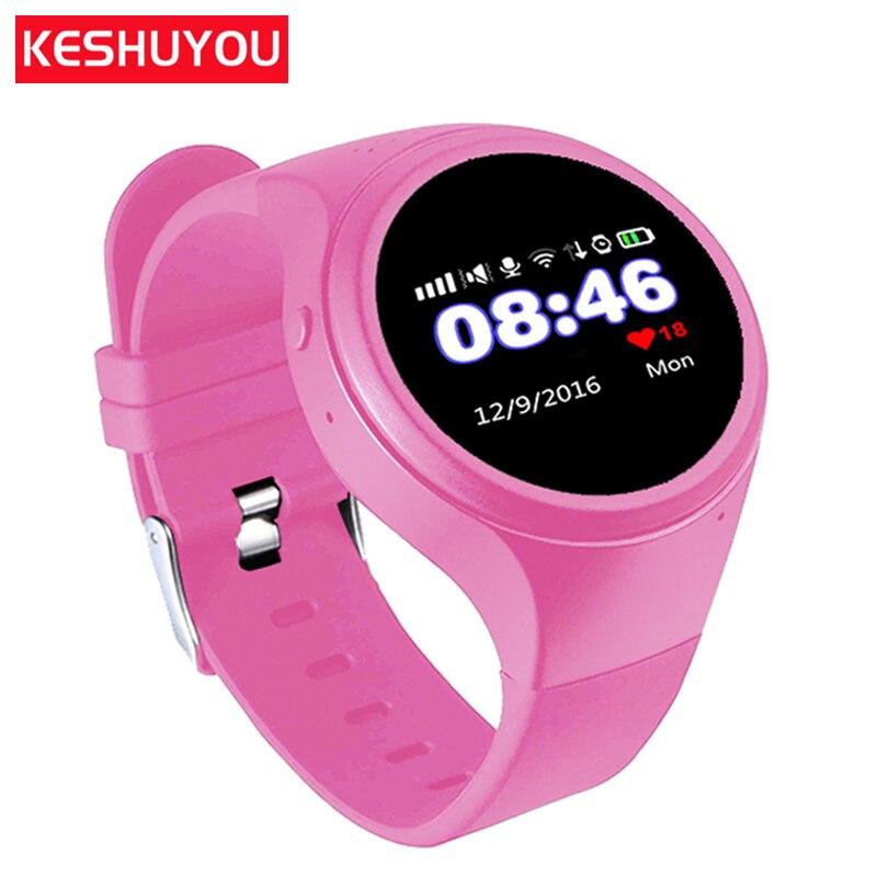 Posiziona il mouse sopra per ingrandire. KESHUYOU T88 New Baby Bambini  orologi GPS tracker smartwatch smart orologio Contapassi
