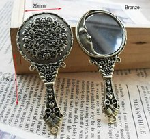 Buy antique cameo pendant and get free shipping on aliexpress big mirror charm pendants antique bronze cameo trendy jewelry fit jewelry making 4pcs 2963mm aloadofball Gallery