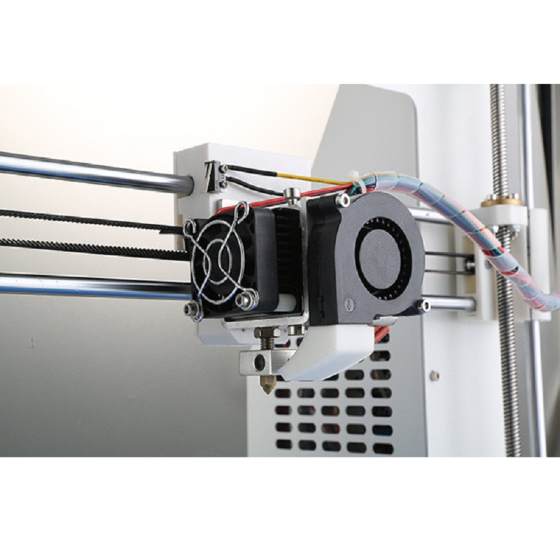 JGAURORA MK8 Extruder 3D Printer for JGAurora A-3/ Rerap Prusa i3 Nozzle 0.4mm Filament 1.75mm 12V Cable Length 1m/0.5m flsun 3d printer big pulley kossel 3d printer with one roll filament sd card fast shipping
