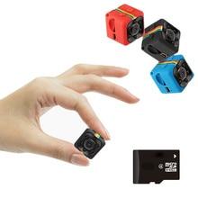 Небольшая мини камера SQ11 HD 1080P с датчиком ночного видения, видеокамера с микро камерой, видеорегистратор DV с датчиком движения, видеокамера SQ 11 DVR