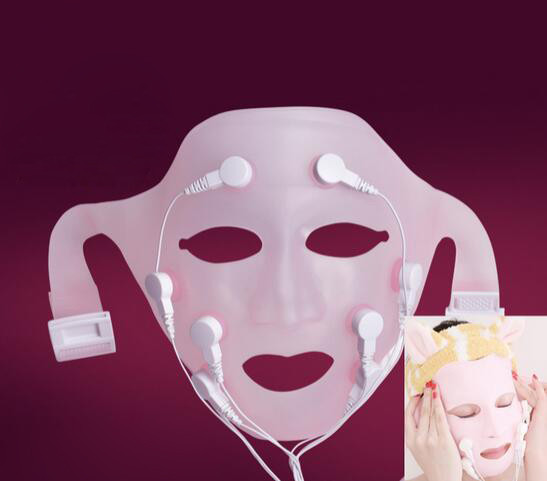 New hot Charge professional vibration Facial massage Quick face lift mask /ace lift belt facial massage Electric mask surface