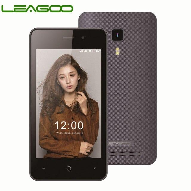 LEAGOO Z1C Смартфон Android 6,0 4 ядра 4,0 Inch 8 GB Встроенная память 512 MB Оперативная память двойной вспышкой двойная sim gps WI-FI 3g мобильного телефона