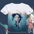 Spirited Away (Sen to Chihiro no Kamikakushi) Anime T Shirt Tee Summer Short Sleeve T-shirt Tops Unisex Cosplay S-XXXL
