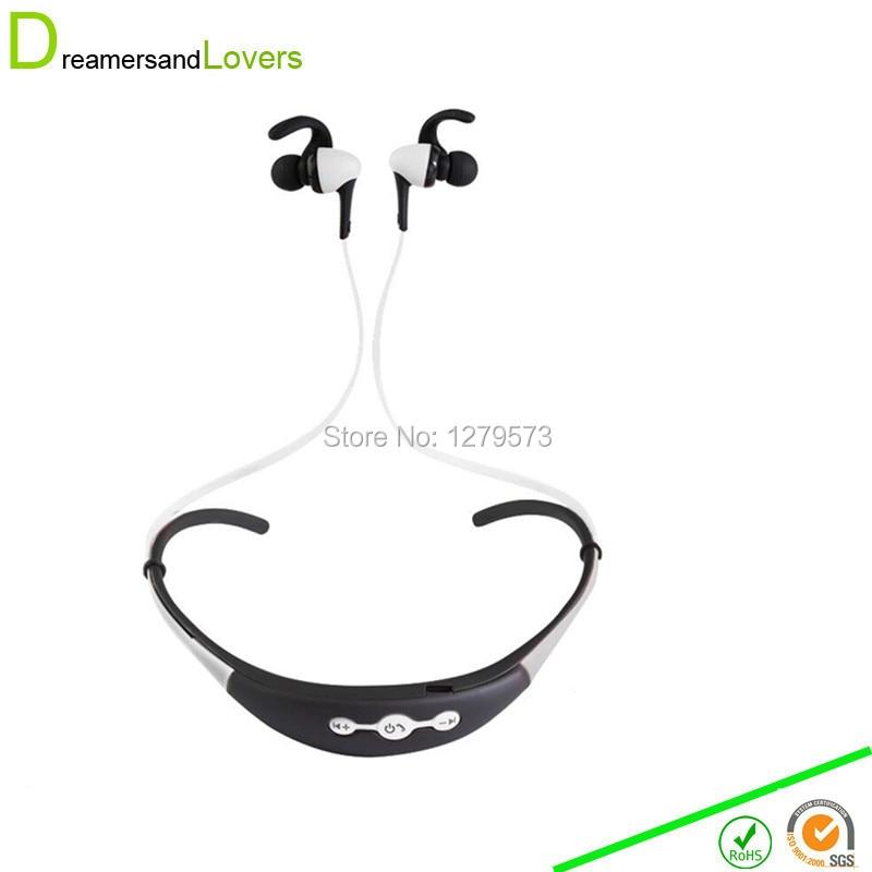 Bluetooth Headphones Wireless Sweatproof Sports Headset Bluetooth 4.1 Ear Hook Earphones with Mic for Gym Running Hiking White wireless headphones v4 1 bluetooth earphone stealth sports headset ear hook earpiece with mic for iphone 7 7s samsung xiaomi