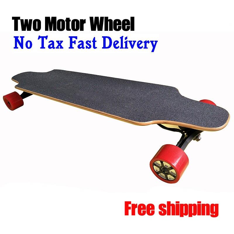 4 4ah dual motor electric skate board electric skateboard. Black Bedroom Furniture Sets. Home Design Ideas