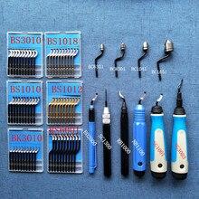 Высокое качество обрезки лезвия, для снятия заусенцев штыковое лезвие, BS1010 BK3010 кромкорезец, BS1018 BS2010