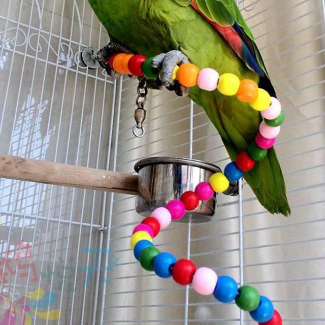 Rainbow Beads for Birds
