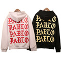 High Quality Pablo Hoodie for Men Women Yeezy Pullover Paris New York City Limited Feel Like Pablo Kanye West Hooded Sweatshirts
