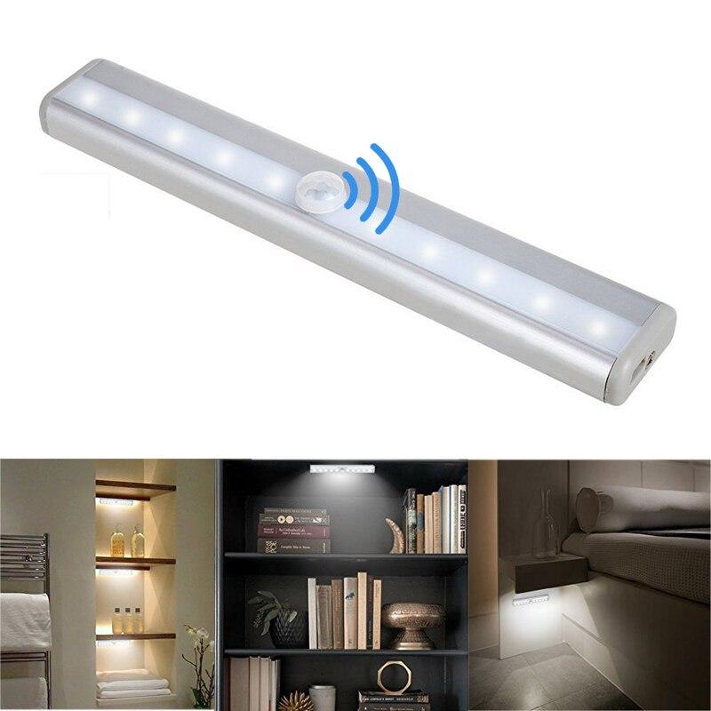 5W LED Bar Light Night Strip Passageway Wardrobe Closet Lamp Battery Powered US