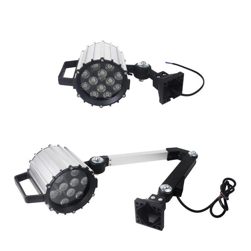 Светодиодный гаражный светильник 9 Вт 24 В 220 В водонепроницаемый IP67 CNC машинный светильник токарный фрезерный шлифовальный светильник ing мас