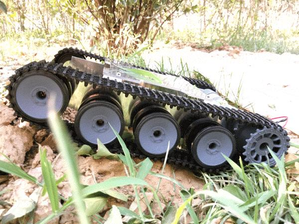 ROT-5 caterpillar off-road vehicle chassis tank (can upgrade their own remote control, speed)ROT-5 caterpillar off-road vehicle chassis tank (can upgrade their own remote control, speed)
