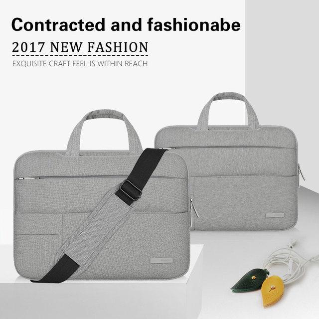 New Laptop Bag for macbook pro air 13 case 11 12 13 15 15.6 Laptop Shoulder Bag for Asus Acer Dell HP 14 inch laptop sleeve