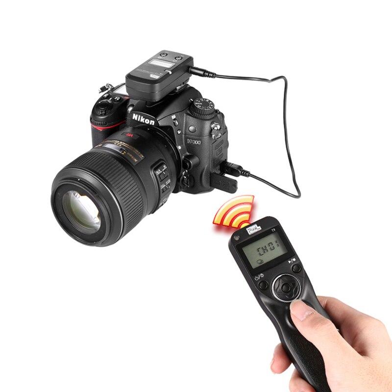 PIXEL TW-283 Minuterie Sans Fil Déclencheur Télécommande Pour Sony RX10M3 RX1RM2 RX100M4 RX10M2 WX500 HX90 HX60 HX400 RX10