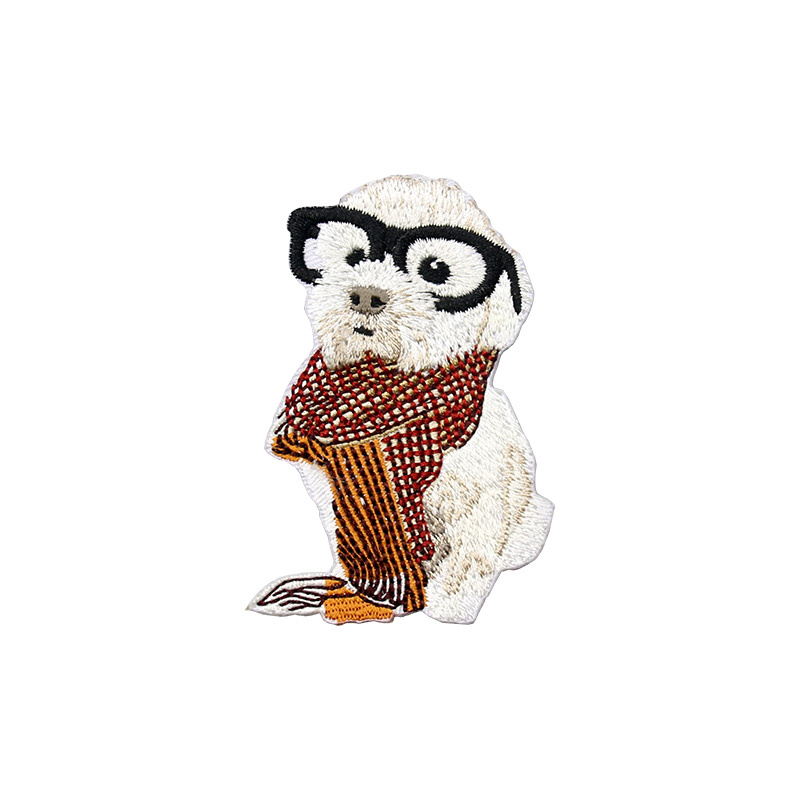 1 PCS Modelet e Kafshëve Cute Cute Patch Me Madhësi të Vogël Qen - Arte, zanate dhe qepje - Foto 2