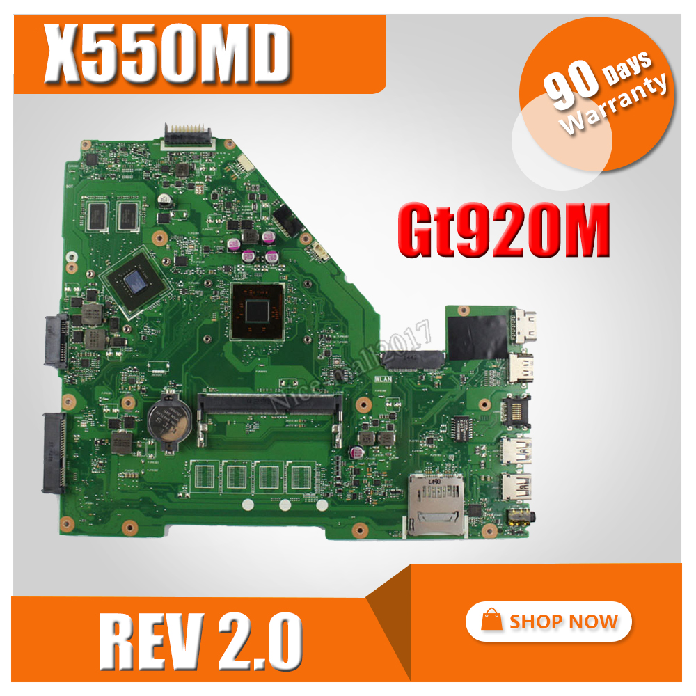 все цены на X550MD Motherboard GT920M/2GB REV2.0 N2840 For ASUS X550MD X550MJ X552M Laptop motherboard X550MD Mainboard X550MD Motherboard