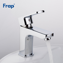 Frap 1 set Brass Body Bathroom Basin Faucet Vessel Sink Water Tap bath sink cold and hot Mixer taps faucets Chrome Finish F1064 цена