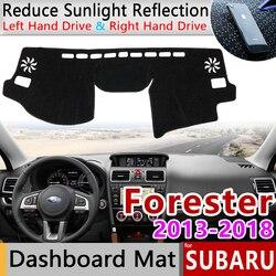for Subaru Forester 2013~2018 Anti-Slip Mat Dashboard Cover Carpet Sunshade Dashmat Accessories SG SH SJ SK 2014 2015 2016 2017