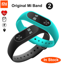 Original xiaomi mi banda 2 miband 2 con pantalla oled touchpad inteligente de ritmo cardíaco de bluetooth gimnasio pulsera