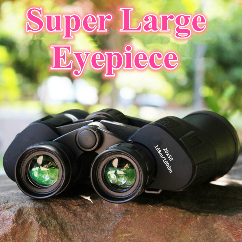20X50 Powerful Binoculars Nitrogen Waterproof Telescope Lll Night Vision Military Professional BIG eyepiece Russian Binocular in Monocular Binoculars from Sports Entertainment