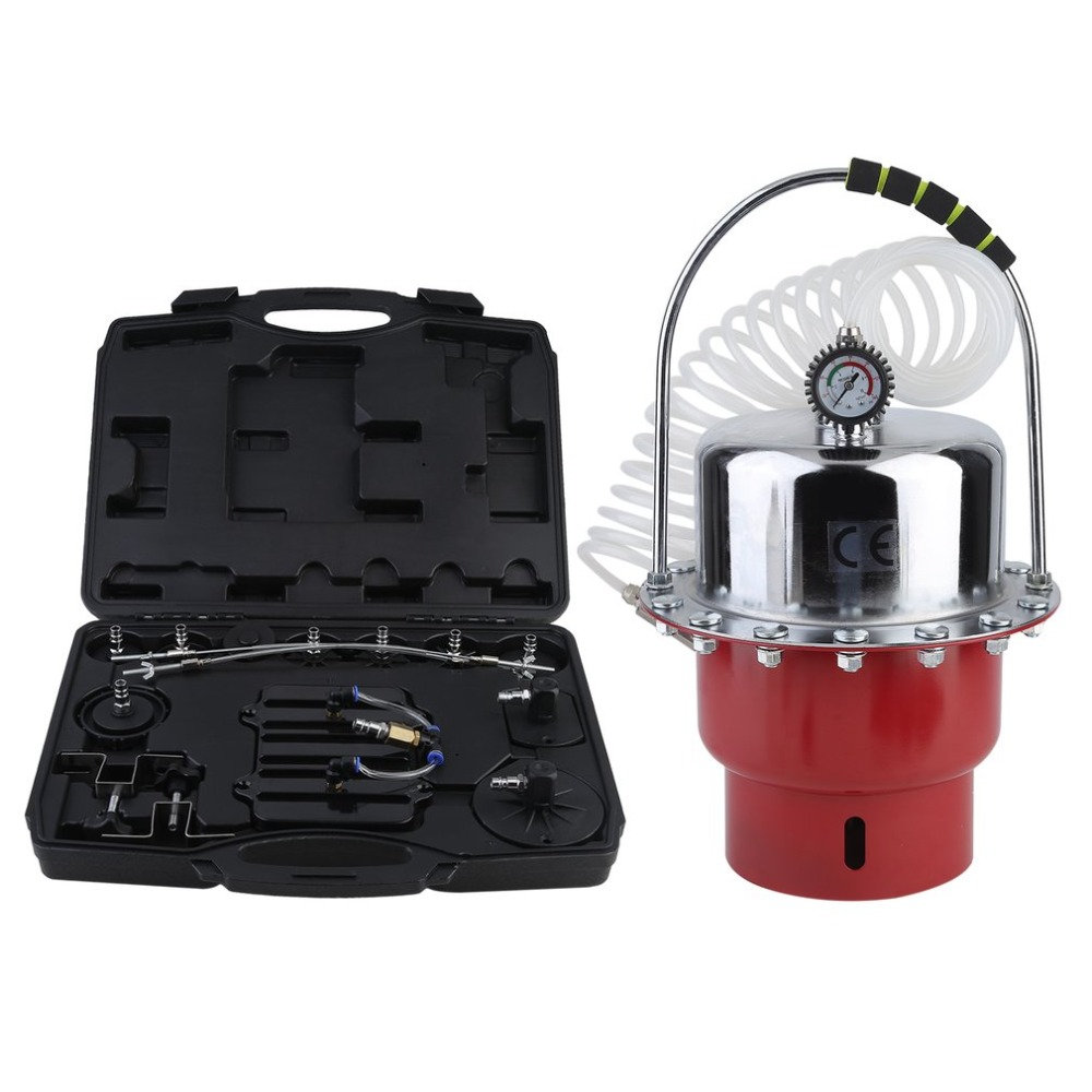 5L Car Brake Fluid Exchanger Auto Repair Tools Pneumatic Pressure Bleeder Set Professional Brake Clutch System Device