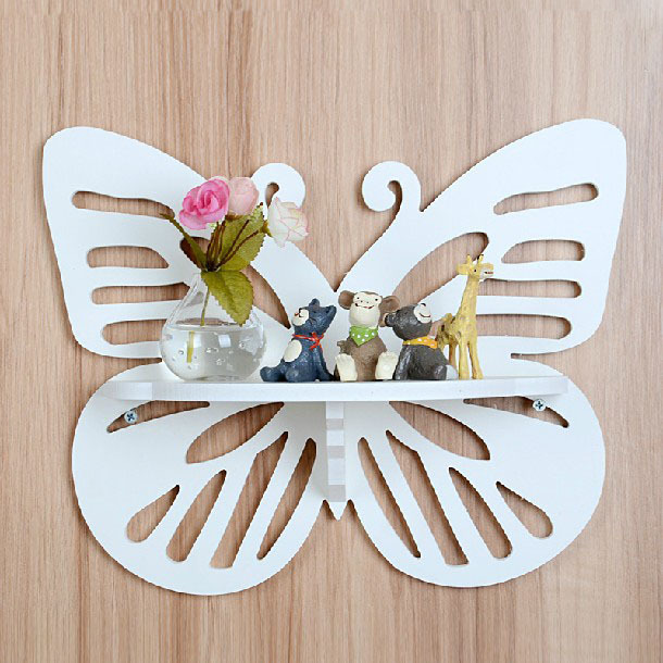 aliexpresscom buy white butterfly hooks carved wooden decorative hangers home decoration clothes rails gancho de madeira hook hanger from reliable hanger - Decorative Picture Hangers