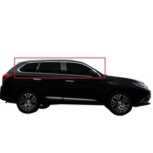 Door Window Body Exterior Excent Decorative Auto Modification Decoration Bright 13 14 15 16 17 18 19 FOR Mitsubishi Outlander