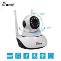 KEEPER HD 1080P IP Camera Wireless Home Security IP Camera Surveillance Camera Wifi Night Vision 2MP CCTV Camera Baby Monitor