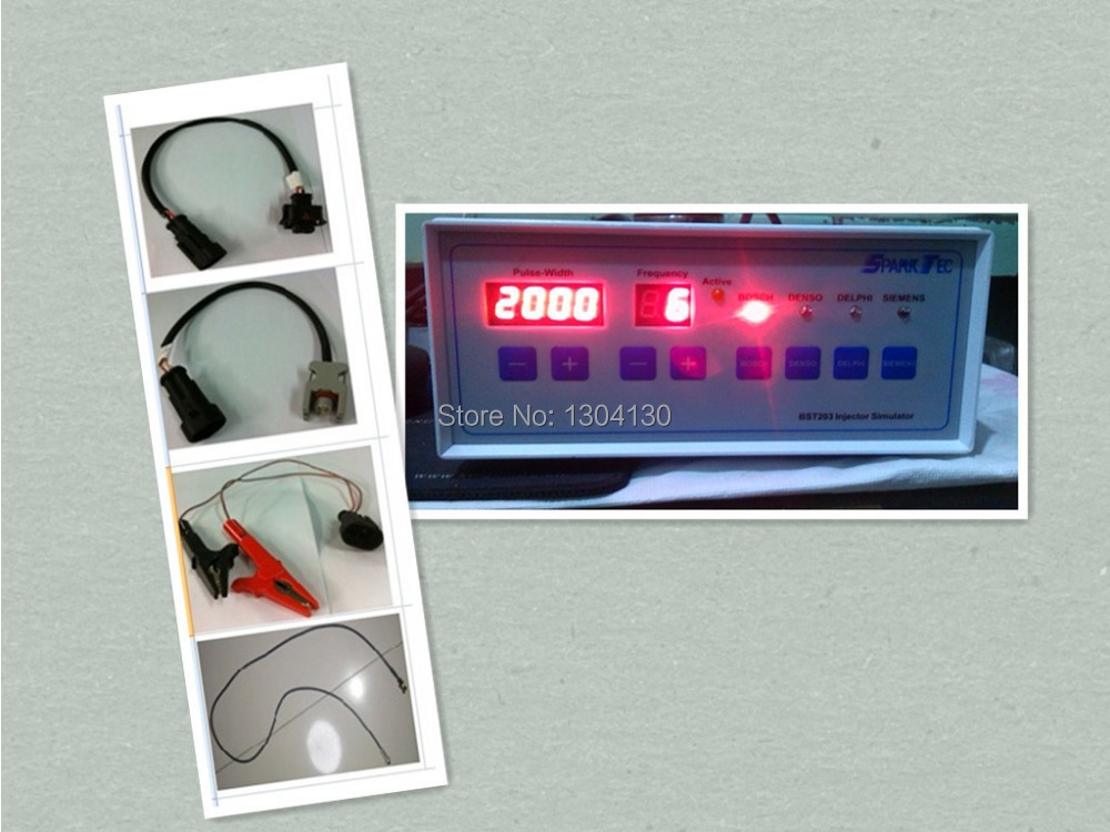 BSTSparkTec BST203 серии BST203 тестер инжектора common rail диагностический инструмент тестер инжектора