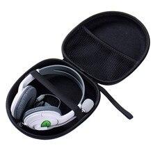 1pcs Hard Case Storage Carrying Hard Bag Box for Earphone Headphone Earbuds Memory Card Big Headphone Storage Bag