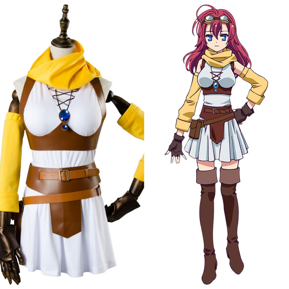 No Game NO Life Zero Couronne Dola Outfit Cosplay Costume Full Set
